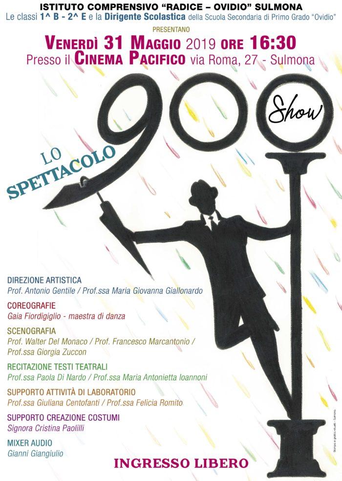 Locandina 900Show